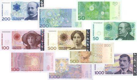 norsk valuta till svensk