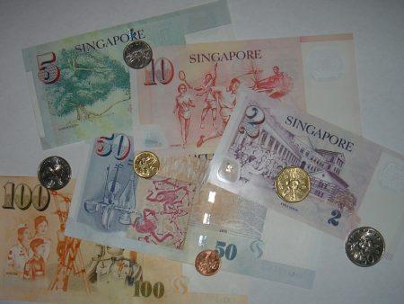 singapore-dollar-sedlar-mynt