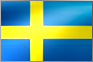 Svenska kronan - flagga SEK