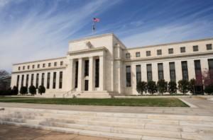 Federal Reserves-byggnaden i USA