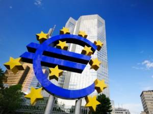 ECB, Frankfurt Euro-valuta
