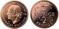 Sveriges nya 2-krona