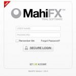 Mahi FX inloggning till plattformen - nytt live-konto