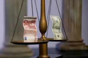 Handla valutaparet Euro och Dollar