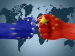Ekonomi i Europa jämfört med Kina
