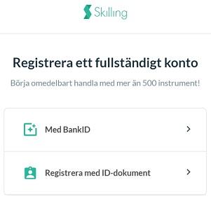 registrering hos skilling