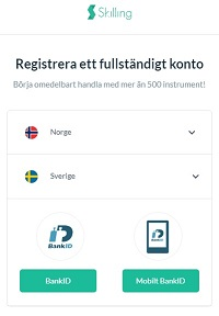 forex trading med bank id