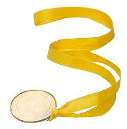 Tre bästa - Medalj